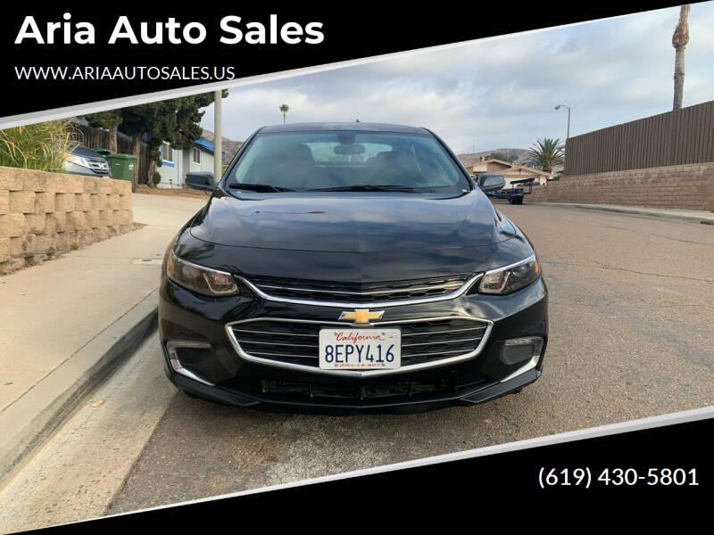 2018 Chevrolet Malibu for sale at Aria Auto Sales in El Cajon CA