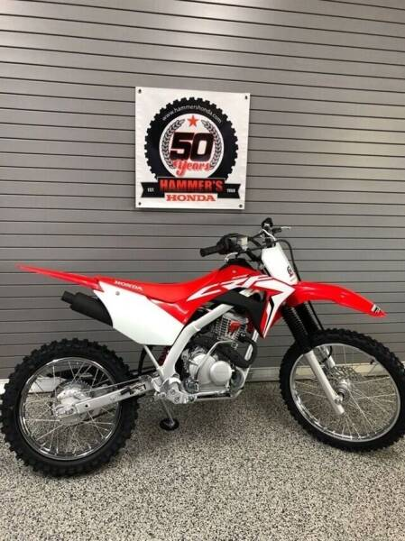 2021 Honda CRF125FBM