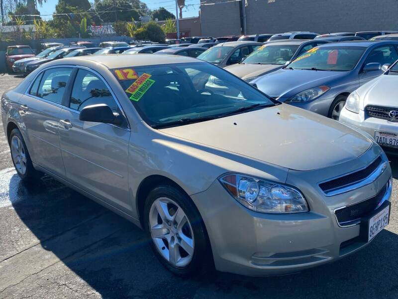 2012 Chevrolet Malibu for sale at North County Auto in Oceanside CA