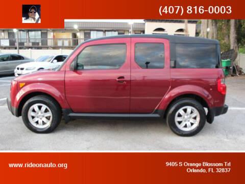 2008 Honda Element for sale at Ride On Auto in Orlando FL