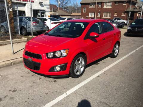 2015 Chevrolet Sonic for sale at Trans Auto in Milwaukee WI
