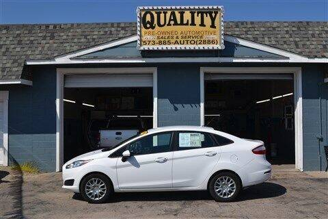 2014 Ford Fiesta for sale at Quality Pre-Owned Automotive in Cuba MO