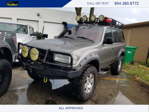 1994 Toyota Land Cruiser for sale at The Autoblock in Fort Lauderdale FL