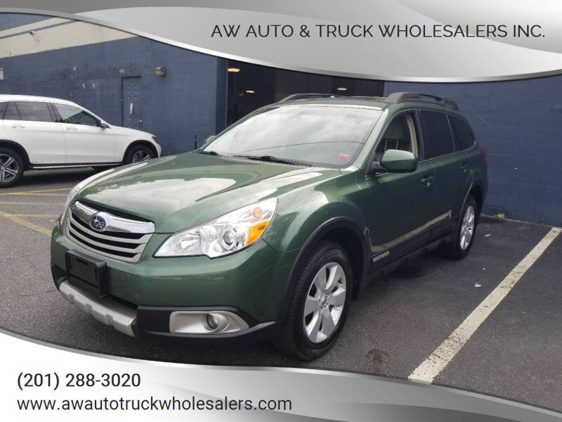2012 Subaru Outback for sale at AW Auto & Truck Wholesalers  Inc. in Hasbrouck Heights NJ