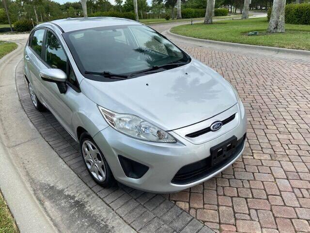 2013 Ford Fiesta for sale at World Champions Auto Inc in Cape Coral FL