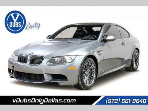 2009 BMW M3 for sale at VDUBS ONLY in Dallas TX