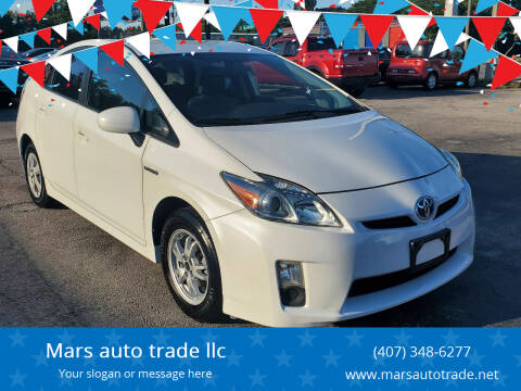 2010 Toyota Prius for sale at Mars auto trade llc in Kissimmee FL