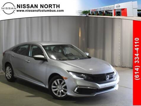 2019 Honda Civic for sale at Auto Center of Columbus in Columbus OH