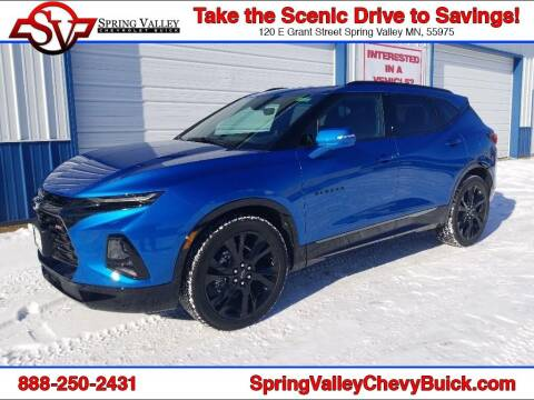 2021 Chevrolet Blazer for sale at Spring Valley Chevrolet Buick in Spring Valley MN