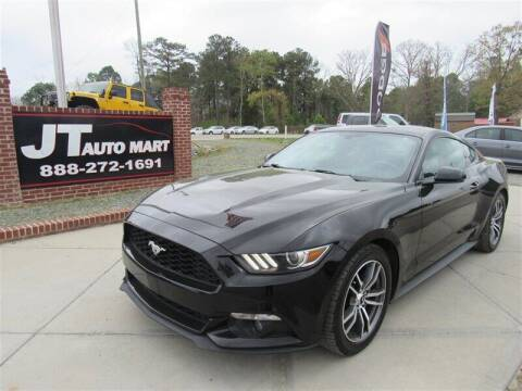 2015 Ford Mustang for sale at J T Auto Group in Sanford NC