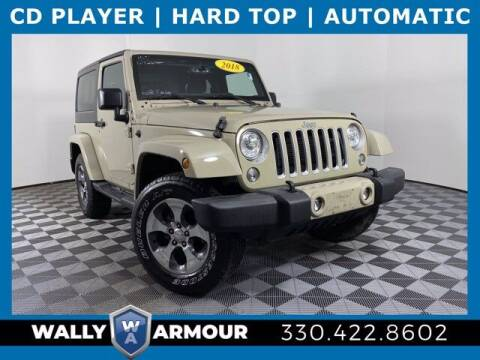 2018 Jeep Wrangler JK for sale at Wally Armour Chrysler Dodge Jeep Ram in Alliance OH