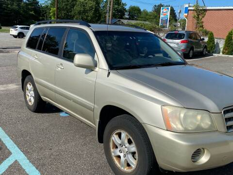 2003 Toyota Highlander for sale at Primary Motors Inc in Commack NY