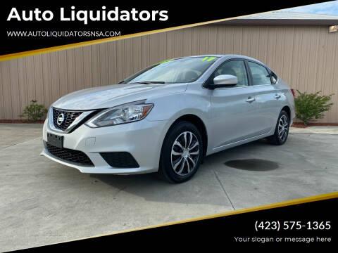 2017 Nissan Sentra for sale at Auto Liquidators in Bluff City TN