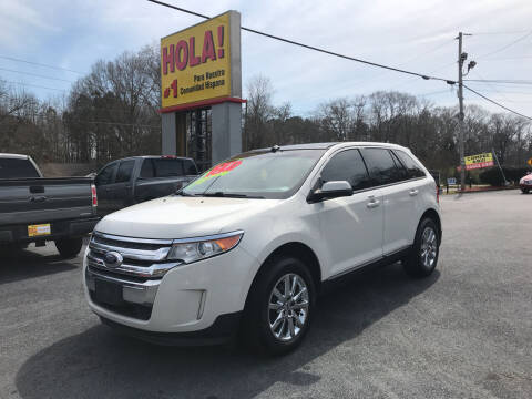 2013 Ford Edge for sale at No Full Coverage Auto Sales in Austell GA