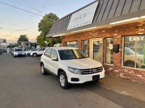 2012 Volkswagen Tiguan for sale at M&M Auto Sales in Portland OR