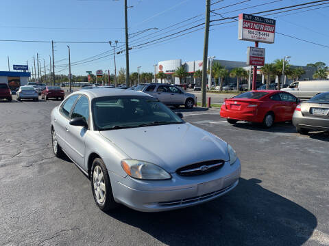 2002 Ford Taurus for sale at Sam's Motor Group in Jacksonville FL