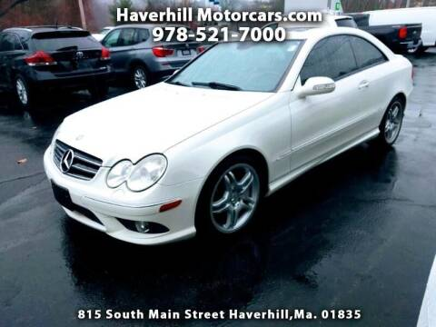 2009 Mercedes-Benz CLK for sale at 125 Auto Finance in Haverhill MA