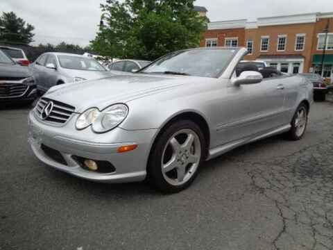2004 Mercedes-Benz CLK for sale at Purcellville Motors in Purcellville VA