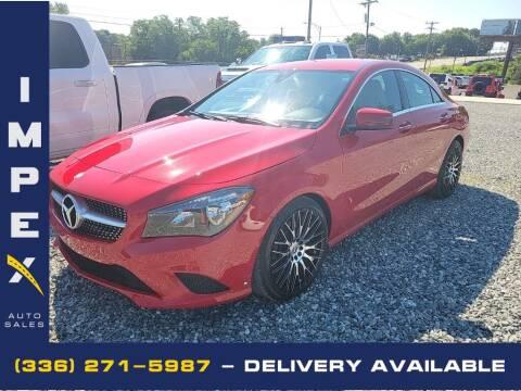 2015 Mercedes-Benz CLA for sale at Impex Auto Sales in Greensboro NC
