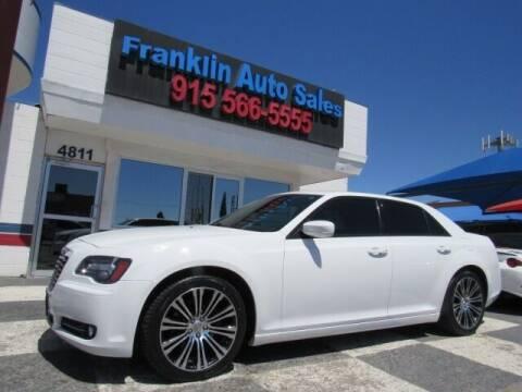 2013 Chrysler 300 for sale at Franklin Auto Sales in El Paso TX