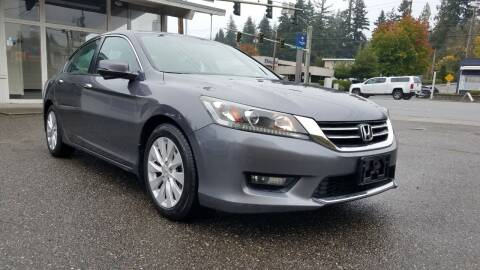 2014 Honda Accord for sale at Seattle Auto Deals in Everett WA