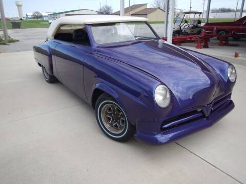 1952 Studebaker CUSTOM for sale at Custom Rods and Muscle in Celina OH