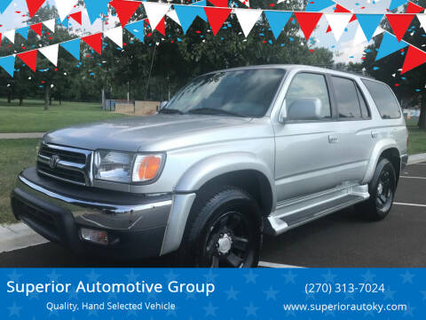 2000 Toyota 4Runner for sale at Superior Automotive Group in Owensboro KY