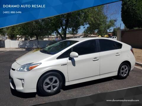2013 Toyota Prius for sale at DORAMO AUTO RESALE in Glendale AZ