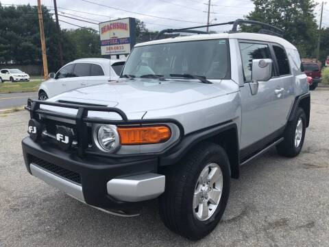 2007 Toyota FJ Cruiser for sale at Beachside Motors, Inc. in Ludlow MA