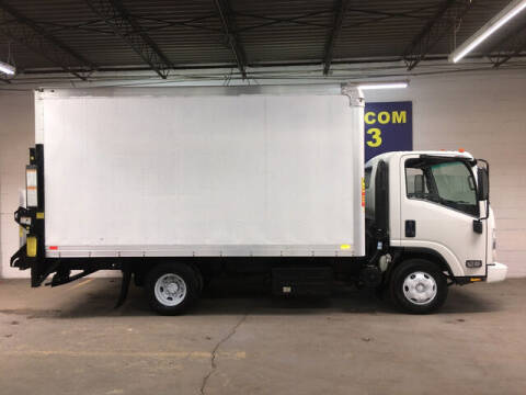 2013 Isuzu NPR Box Truck 3.0L Diesel w/16 for sale at DKR Trucks in Arlington TX
