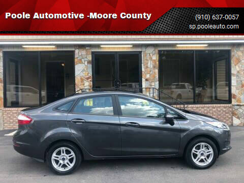2019 Ford Fiesta for sale at Poole Automotive -Moore County in Aberdeen NC