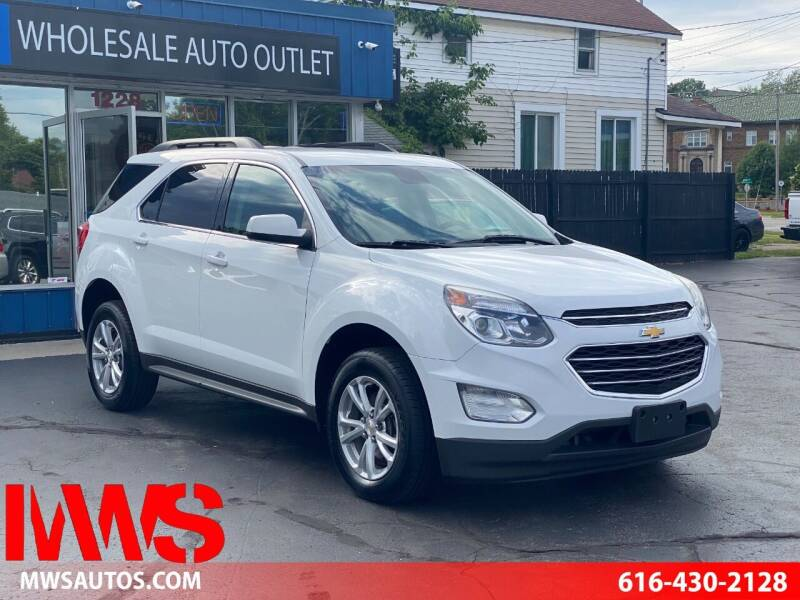 2017 Chevrolet Equinox for sale at MWS Wholesale  Auto Outlet in Grand Rapids MI