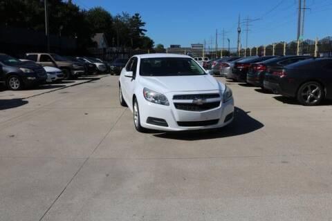 2013 Chevrolet Malibu for sale at F & M AUTO SALES in Detroit MI