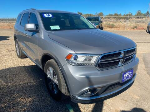 2016 Dodge Durango for sale at 4X4 Auto in Cortez CO