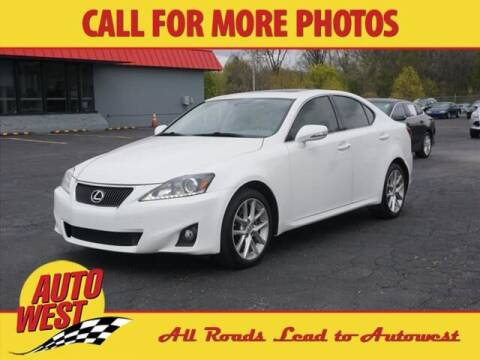 2012 Lexus IS 250 for sale at Autowest Allegan in Allegan MI