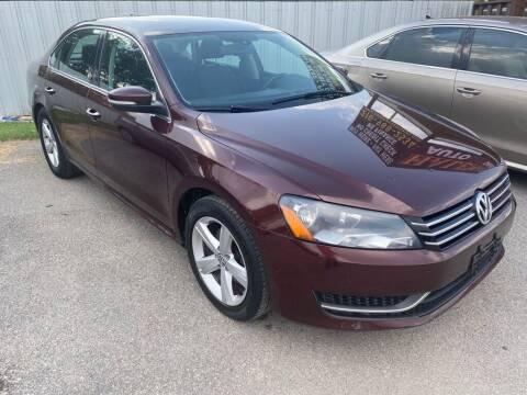 2013 Volkswagen Passat for sale at HALEMAN AUTO SALES in San Antonio TX