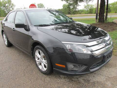 2012 Ford Fusion for sale at Buy-Rite Auto Sales in Shakopee MN