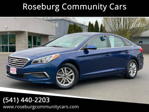 2016 Hyundai Sonata for sale at Roseburg Community Cars in Roseburg OR
