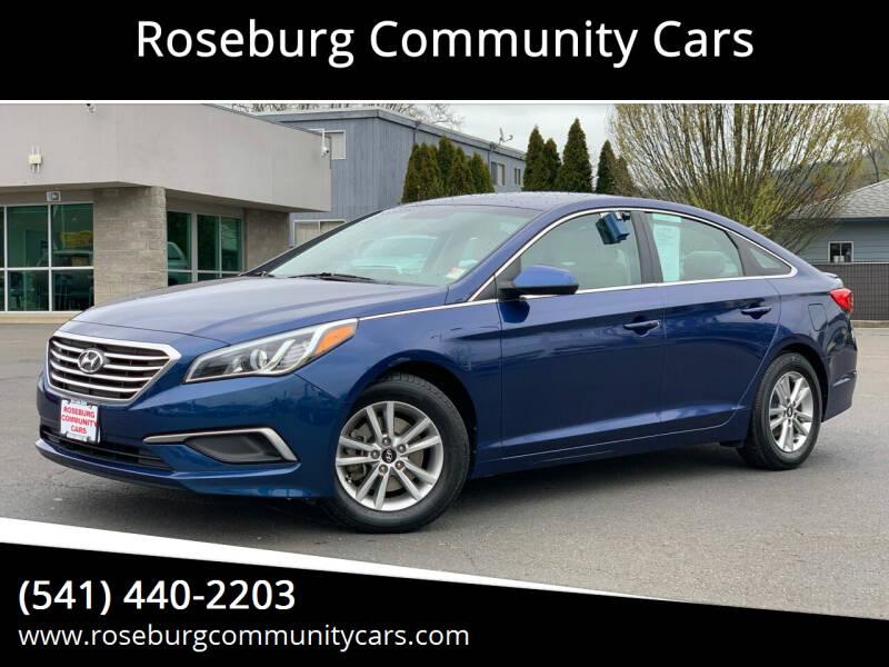 2016 Hyundai Sonata for sale at Roseburg Community Cars in Roseburg OR