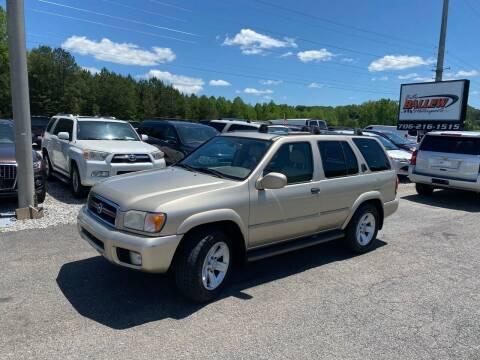 2002 Nissan Pathfinder for sale at Billy Ballew Motorsports in Dawsonville GA