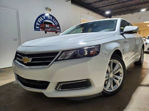 2016 Chevrolet Impala for sale at Italy Blue Auto Sales llc in Miami FL