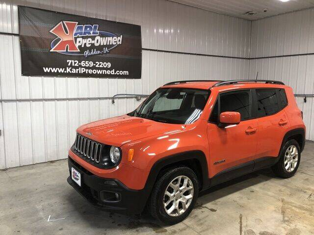 2018 Jeep Renegade for sale at Karl Pre-Owned in Glidden IA