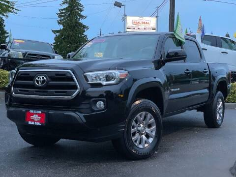 2017 Toyota Tacoma for sale at Real Deal Cars in Everett WA