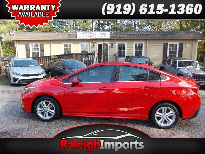 2018 Chevrolet Cruze for sale at Raleigh Imports in Raleigh NC