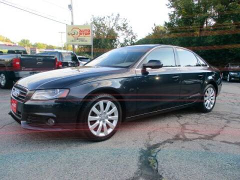 2012 Audi A4 for sale at AUTO STOP INC. in Pelham NH