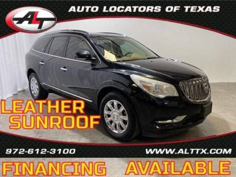 2015 Buick Enclave for sale at AUTO LOCATORS OF TEXAS in Plano TX
