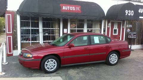 2005 Chevrolet Impala for sale at Autos Inc in Topeka KS