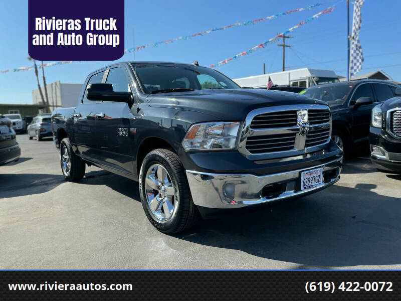 2017 RAM Ram Pickup 1500 for sale at Rivieras Truck and Auto Group in Chula Vista CA