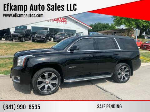 2015 GMC Yukon for sale at Efkamp Auto Sales LLC in Des Moines IA
