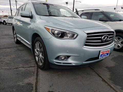 2013 Infiniti JX35 for sale at Better All Auto Sales in Yakima WA